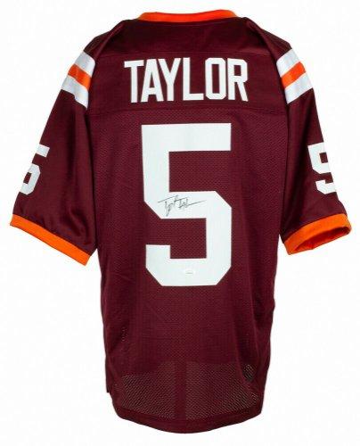 tyrod taylor signed jersey