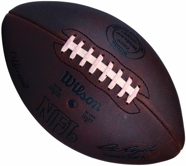UNSIGNED Wilson Duke Throwback Football 1941 to 1970 F1250F Pete Rozelle