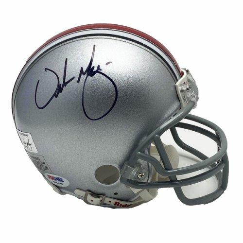 Urban Meyer Autographed Signed Ohio State Buckeyes Mini Helmet - Certified Authentic