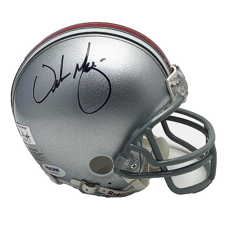 Urban Meyer Autographed Signed Ohio State Buckeyes Mini Helmet - PSA/DNA Authentic