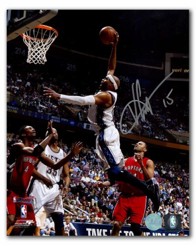 39c0df32a Vince Carter New Jersey Nets Autographed Signed Playoffs Dunk vs Raptors  8x10 Photo - Certified Authentic