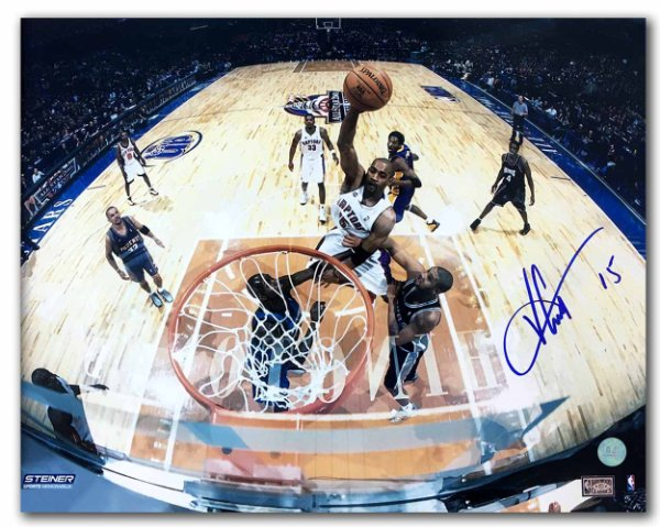 Vince Carter Toronto Raptors Autographed Signed 2001 All Star Game Net Cam  11x14 Photo - Certified 710e1a82b