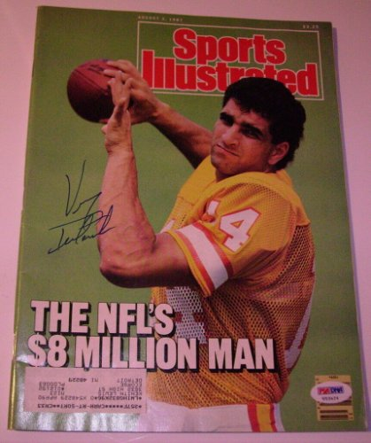 Vinny Testaverde Autographed Signed 8/3/1987 Sports Illustrated PSA/DNA COA