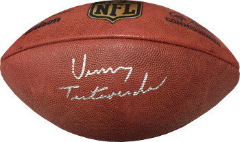 Vinny Testaverde Autographed Signed Official NFL New Duke Football