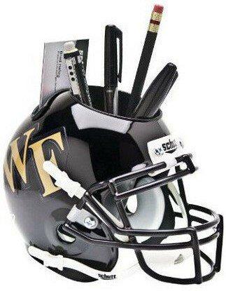 Wake Forest Demon Deacons NCAA Football Schutt Mini Helmet Desk Caddy