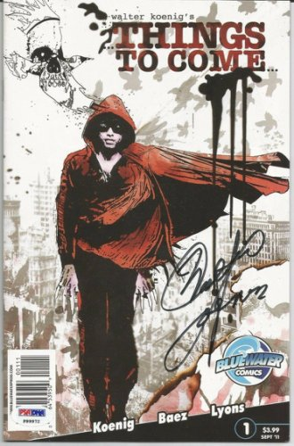 Walter Koenig Autographed Signed Auto Autograph Things To Come Comic Book PSA PSA/DNA