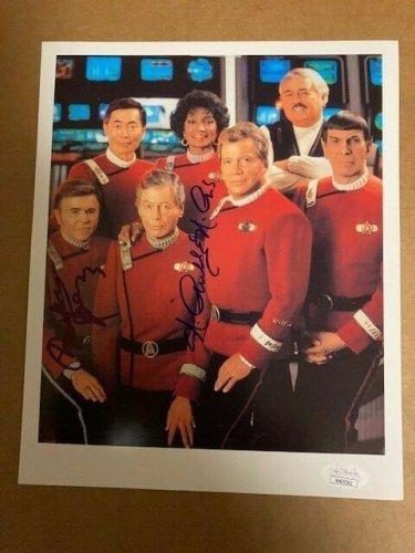 Walter Koenig Autographed Signed Star Trek & Nichelle Nichols 8X10 Photo JSA COA