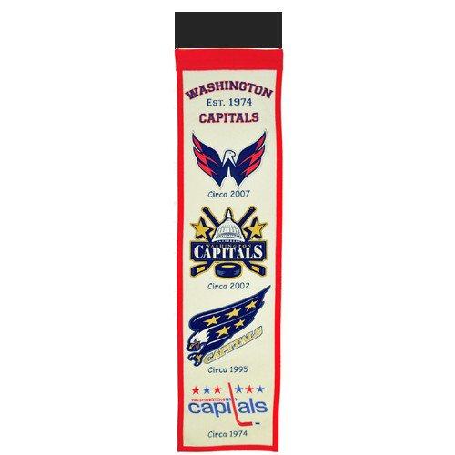 Washington Capitals Logo Evolution Heritage Banner