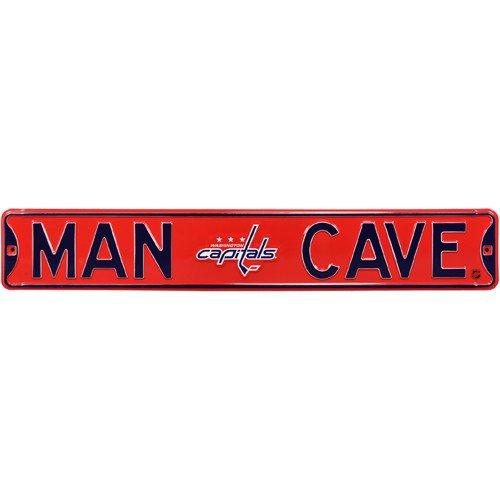 Washington Capitals MAN CAVE Authentic Street Sign
