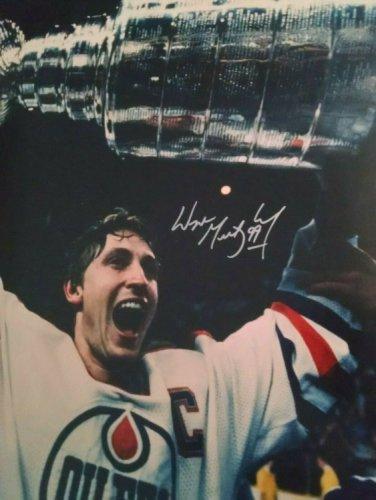 Wayne Gretzky Autographed Signed UDA UDA Framed 16 X 20 Photo Limited # 52 Of 250 Ai