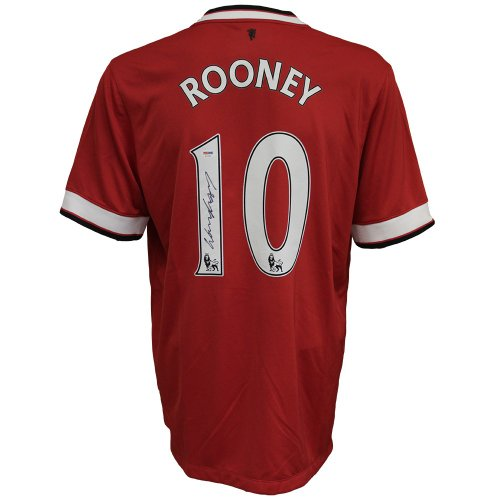 c2d08f97208f Wayne Rooney Autographed Signed DC United Red Jersey - PSA DNA Certified  Authentic