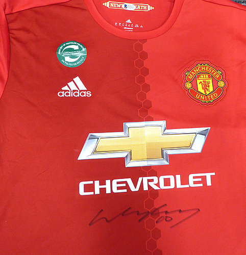bd8c88454d3a Wayne Rooney Autographed Signed Manchester United Adidas Authentic Red  Jersey Size XL Memorabilia - Beckett Authentic