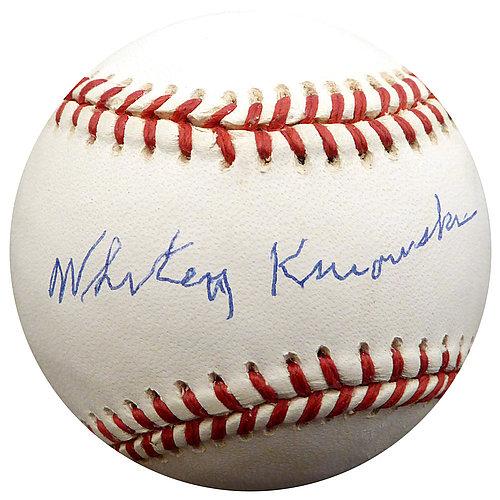 Sports Mem, Cards & Fan Shop Autographs-original Lovely Mark Mcgwire Autograph Signed Career Stat Baseball Ball Cardinals Beckett Coa