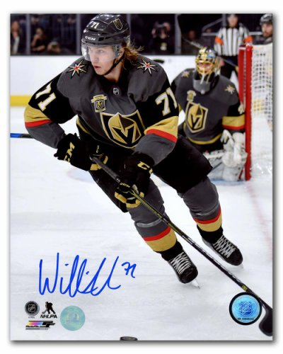 2ac80a8f3 William Karlsson Vegas Golden Knights Autographed Signed Inaugural Season  8x10 Photo - Certified Authentic