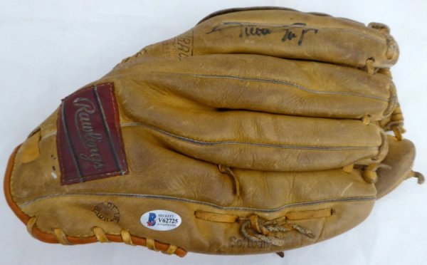 Willie Mays Autographed Signed Rawlings Fielding Glove San Francisco Giants Beckett BAS