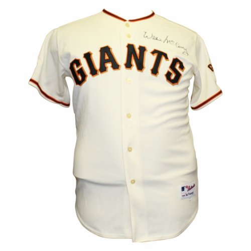 851ebf627 Willie McCovey Autographed Signed San Francisco Giants Majestic MLB Jersey  - PSA DNA Authentic
