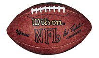 Wilson Official NFL Football - Throwback Paul Tagliabue