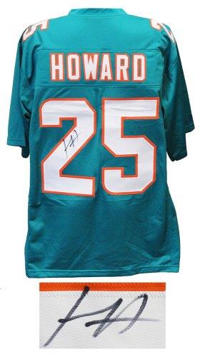 Xavien Howard Autographed Signed Teal Custom Football Jersey