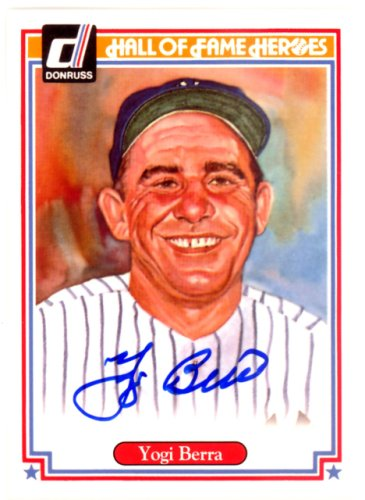 Yogi Berra Autographed Signed 2004 Donruss Hall Of Fame Heroes Card #61 New York Yankees - Certified Authentic