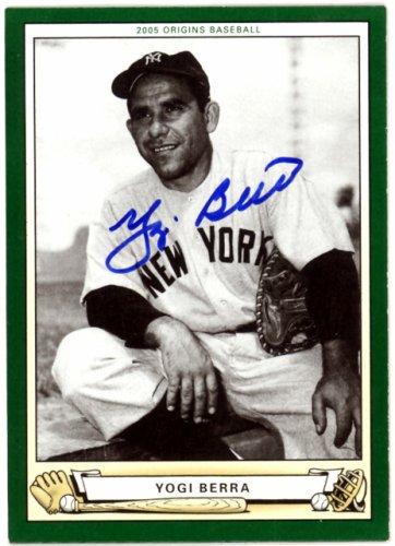 Yogi Berra Autographed Signed 2005 Upper Deck Origins Card #131 New York Yankees - Certified Authentic