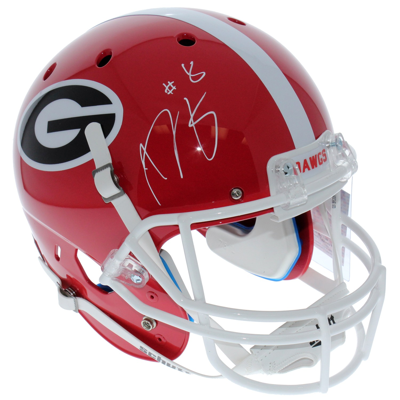 077353d43 AJ Green Georgia Bulldogs Autographed Signed Schutt Full Size Replica  Helmet - PSA/DNA Authentic