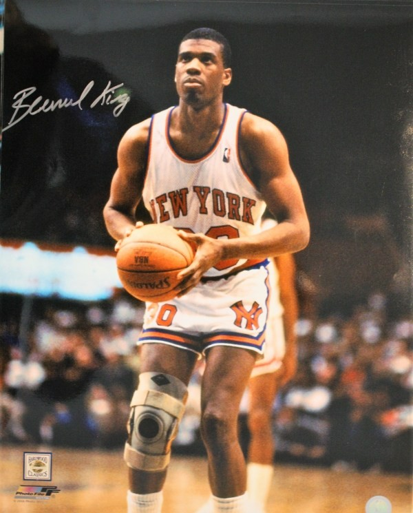new arrival 8460e 1dcaa Autographed Signed Bernard King New York Knicks 16x20 Photo ...