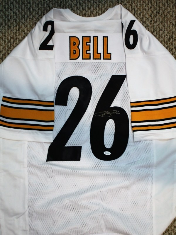 Autographed Signed Le Veon Bell Pittsburgh Steelers Custom Jersey ...