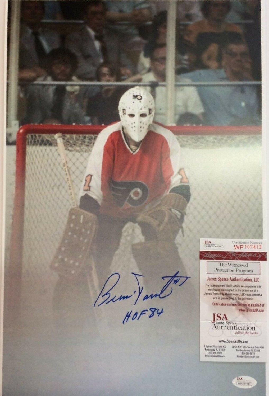 Bernie Parent Autographed Signed Philadelphia Flyers 11X17 Photo ... 5545e8756