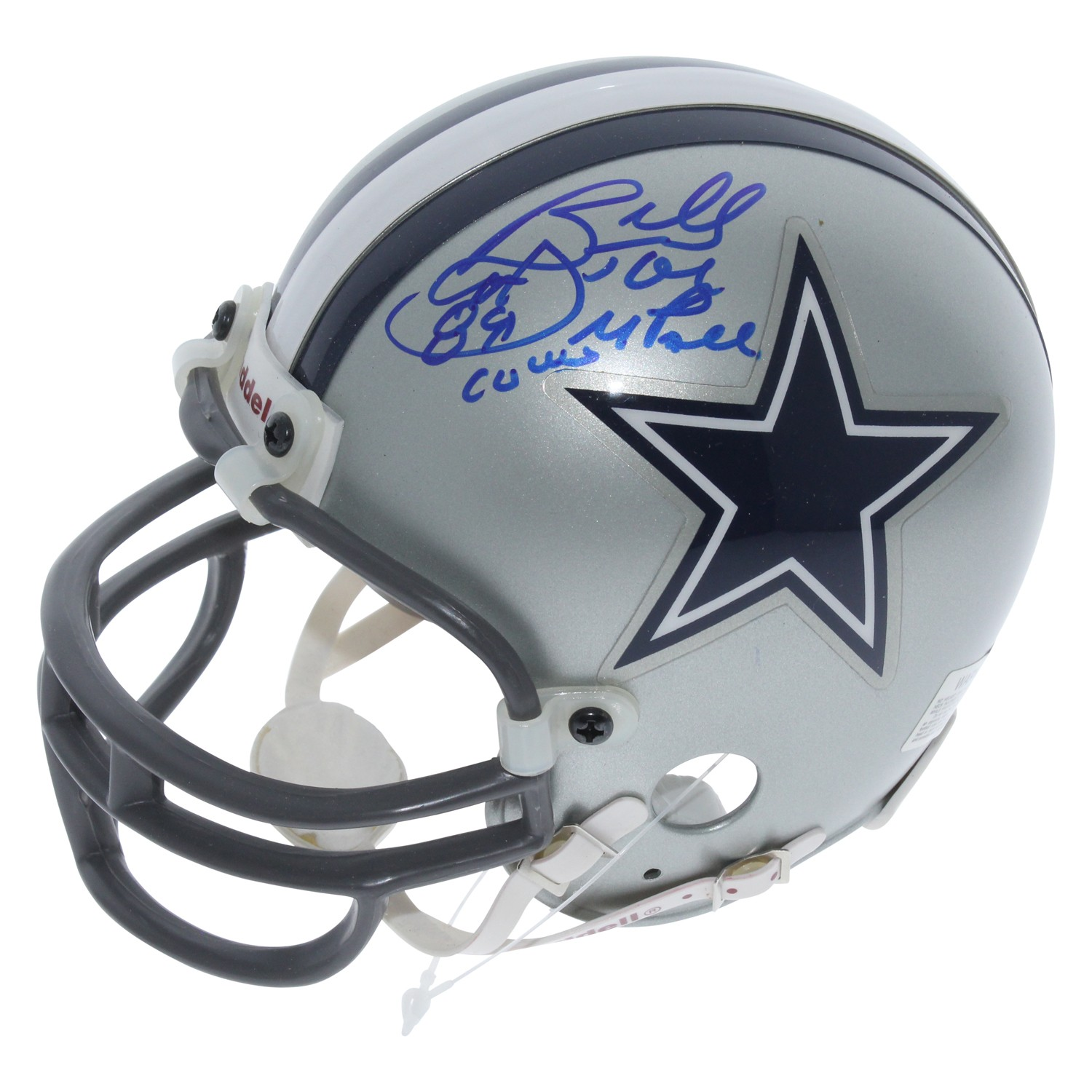 29bfb2a55 Billy Joe Dupree Dallas Cowboys Autographed Signed Riddell Mini Helmet - Opposite  Side Auto - Certified Authentic