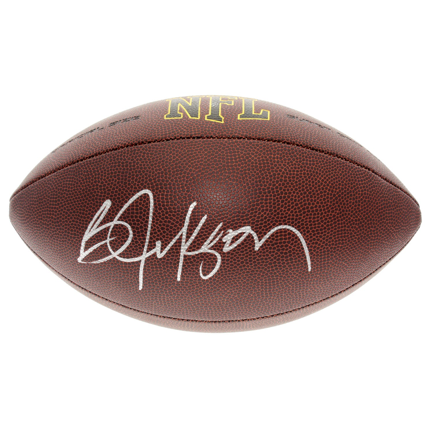 cheap for discount 44d45 211b6 Bo Jackson Autographed Signed NFL Supergrip Football - PSA ...