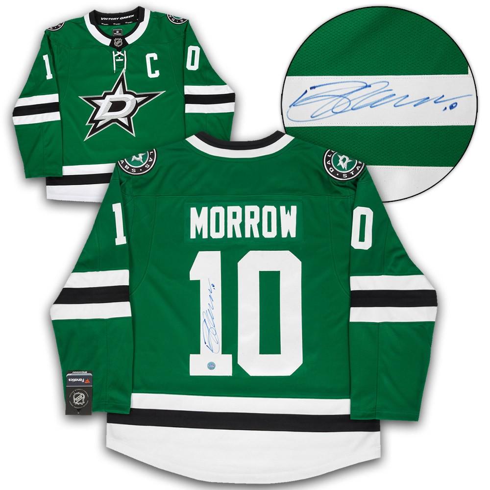 sports shoes b2992 3e394 Brenden Morrow Dallas Stars Autographed Signed Fanatics ...