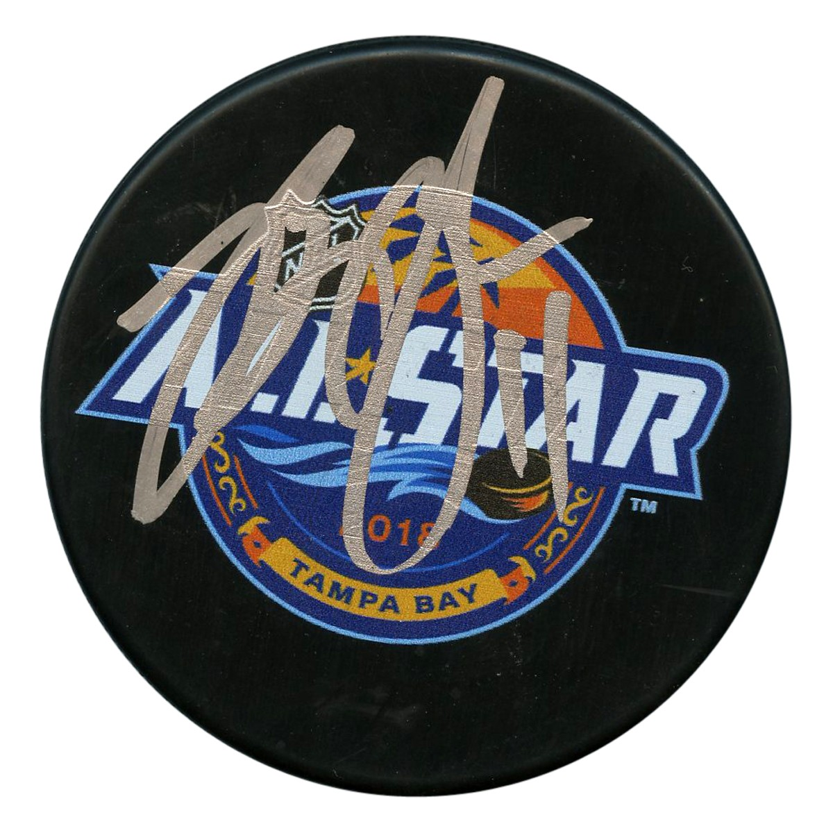 Brian Boyle Autographed Signed 2018 NHL All Star Game Puck - JSA Authentic 4f0cae5ba