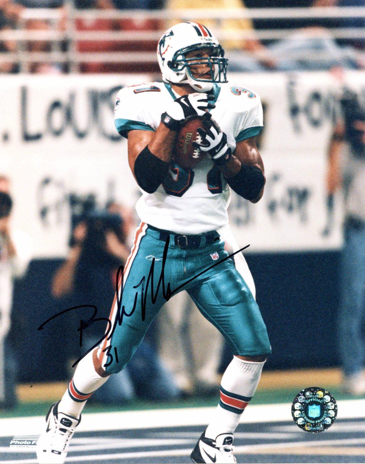 sale retailer daede 225ee Brock Marion Miami Dolphins Autographed Signed 8x10 Photo ...