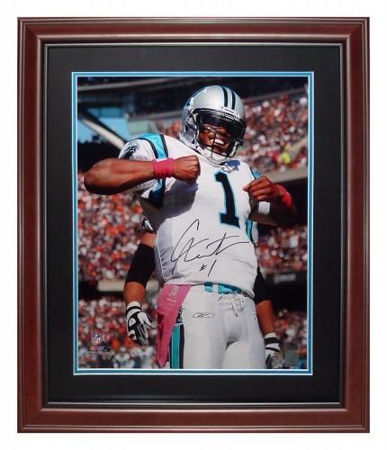 Cameron Newton Autographed Signed Auto Carolina Panthers ... dc0773d66