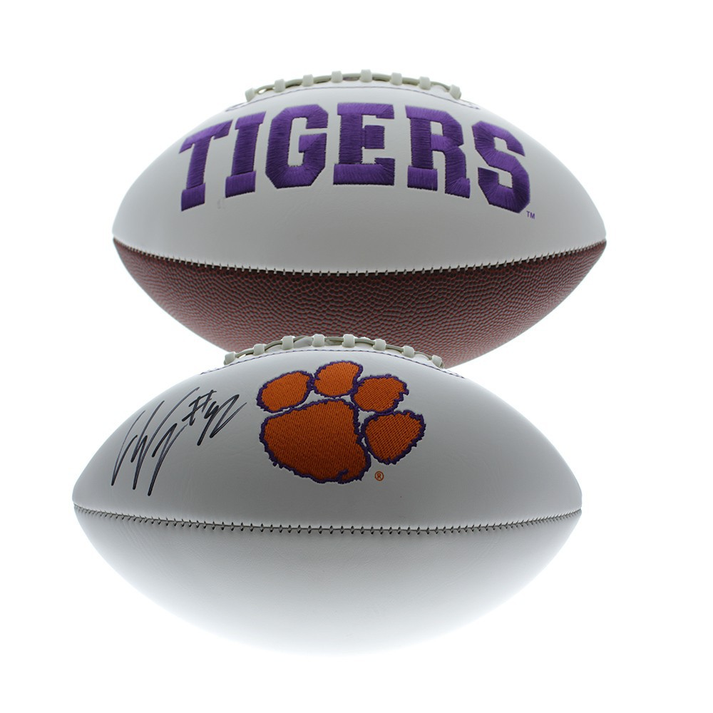 Christian Wilkins Autographed Signed Clemson Tigers White Panel ...