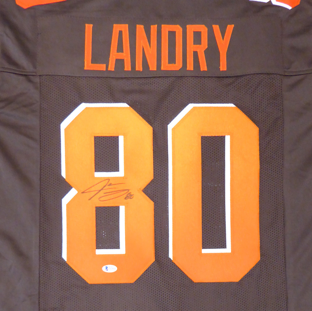 brand new d5755 cf1ed Cleveland Browns Jarvis Landry Autographed Signed Auto Brown ...