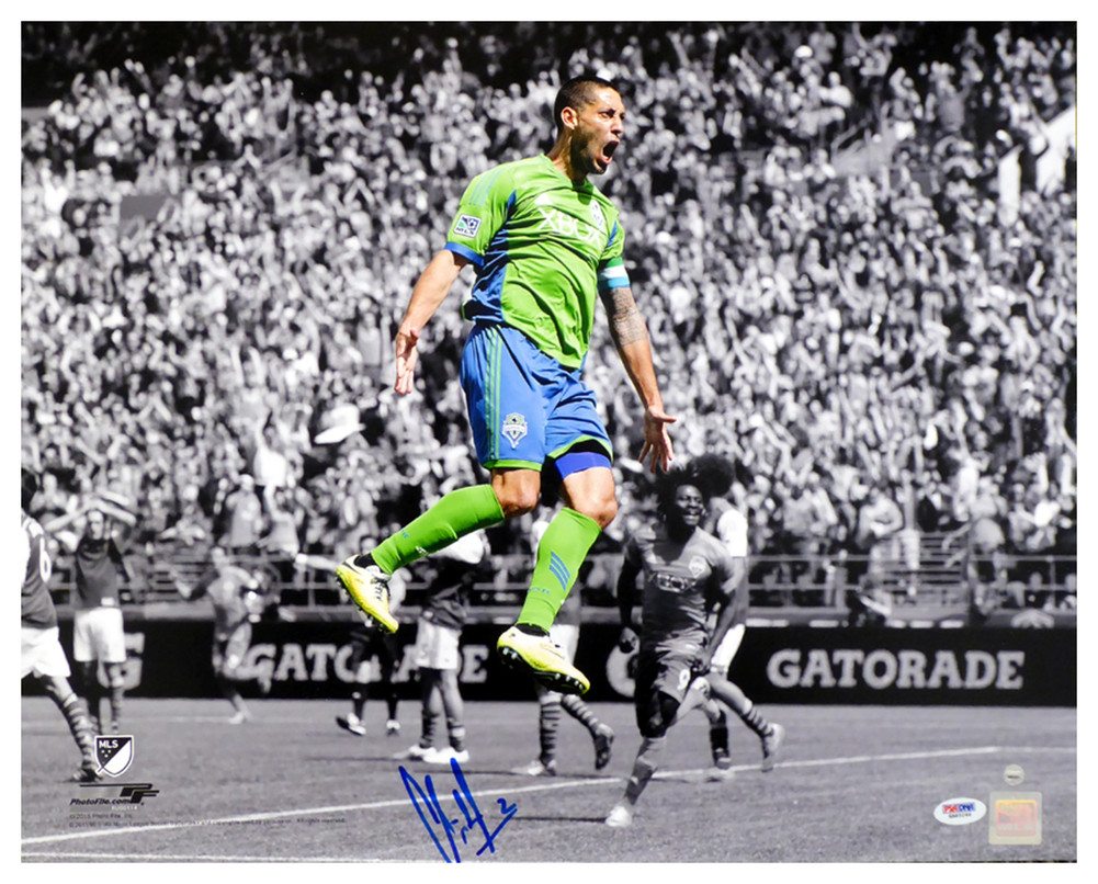 finest selection cfb50 f39e9 Clint Dempsey Autographed Signed 16x20 Photo Seattle Sounders - PSA DNA  Authentic