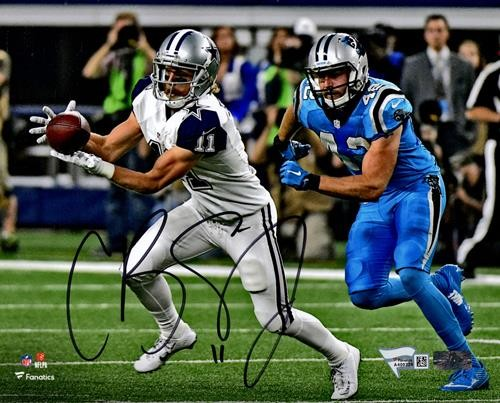 san francisco 3e864 694ac Cole Beasley Autographed Signed Auto Dallas Cowboys 8x10 ...
