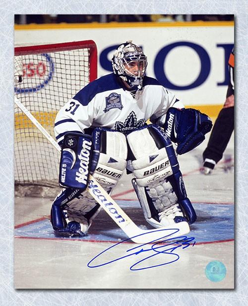 Curtis Joseph Toronto Maple Leafs Autographed Signed Final Gardens
