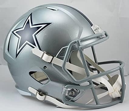 348b5728b Dallas Cowboys Riddell Speed Replica Full Size Helmet (Unsigned)