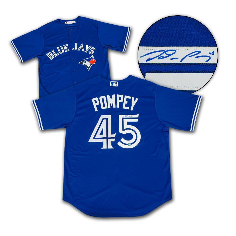 Dalton Pompey Toronto Blue Jays Autographed Signed Replica MLB ...