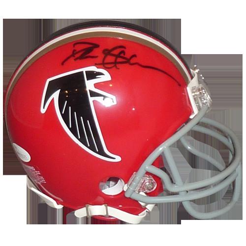 d0c5cfc3897 Deion Sanders Autographed Signed Auto Atlanta Falcons Throwback Red ...