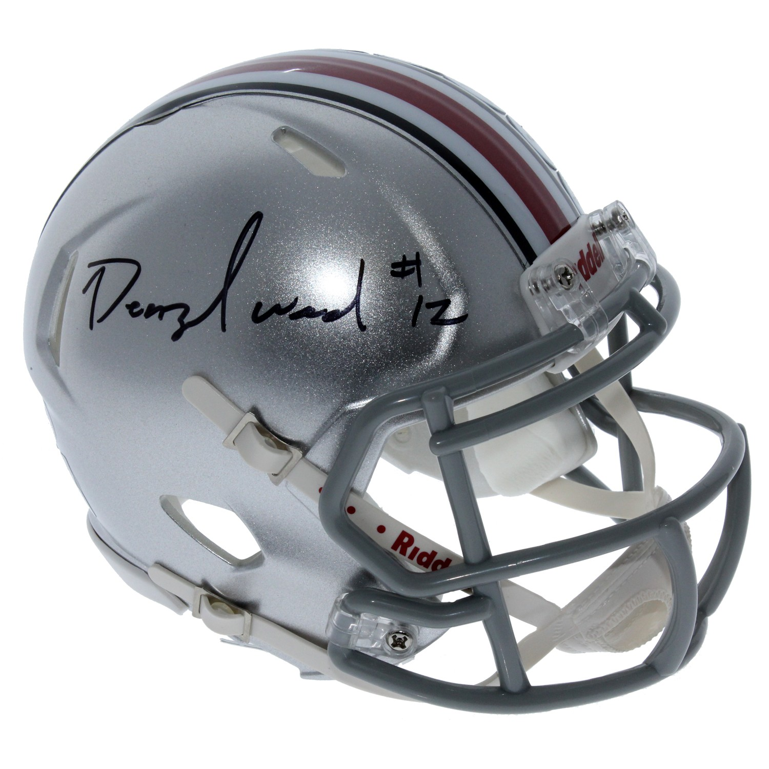 sneakers for cheap 6c06c 6cd8b Denzel Ward Ohio State Buckeyes Autographed Signed Riddell ...
