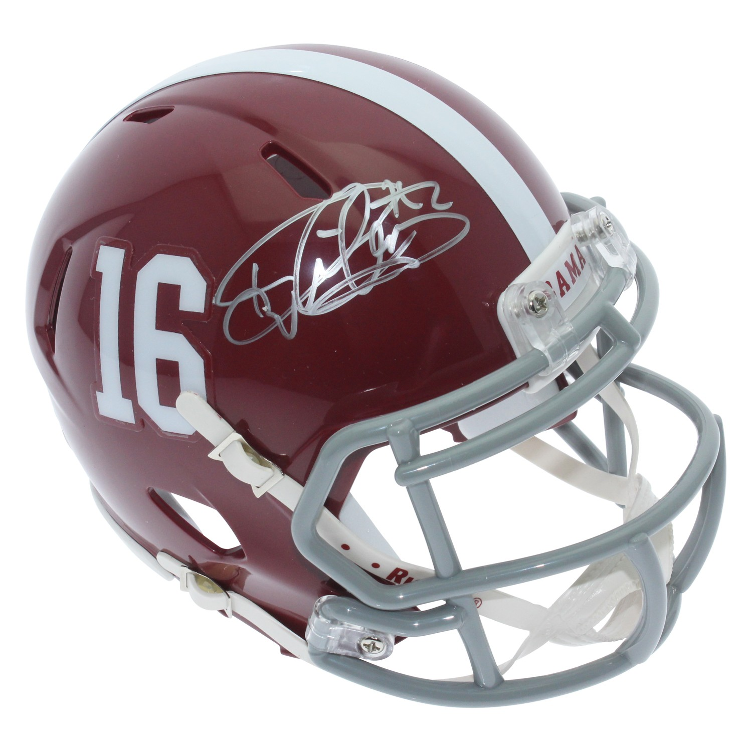 684e7a83a Derrick Henry Autographed Signed Alabama Crimson Tide Riddell Speed Mini  Helmet - PSA DNA Certified Authentic