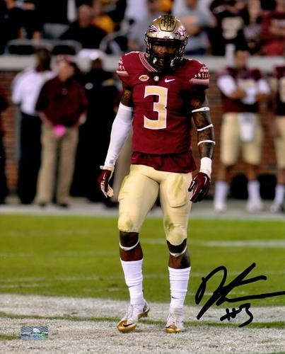 uk availability 9fef6 5fd1b Derwin James Autographed Signed Auto Florida State FSU ...