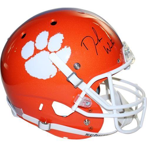 Deshaun Watson Autographed Signed Auto Clemson Tigers Deluxe Full ... eeb24afa8