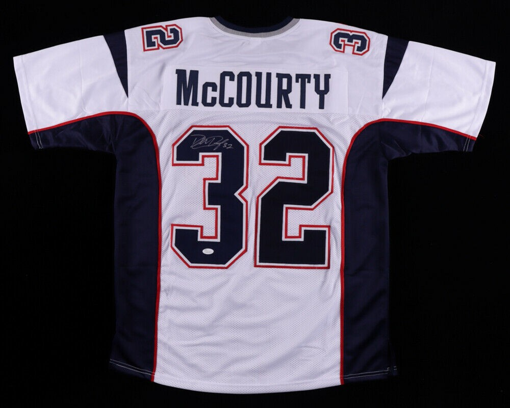 Devin Mccourty Autographed Signed New England Patriots Jersey (JSA ...