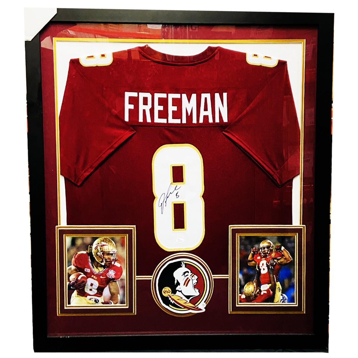 Devonta Freeman Autographed Signed Florida State Seminoles Framed ...