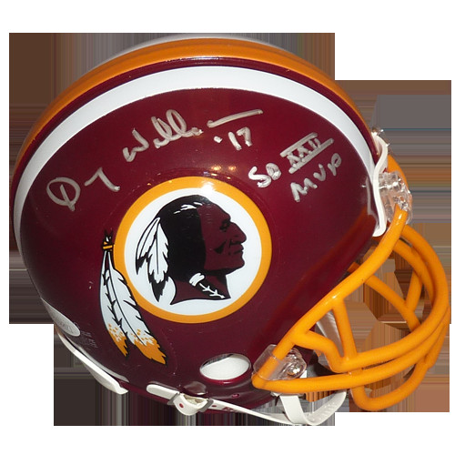 14ff3cdb Doug Williams Autographed Signed Auto Washington Redskins Mini Helmet SB  XXII MVP - Certified Authentic