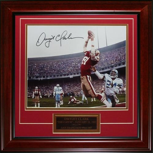 b8167a603 Dwight Clark Autographed Signed Auto San Francisco 49ers The Catch ...